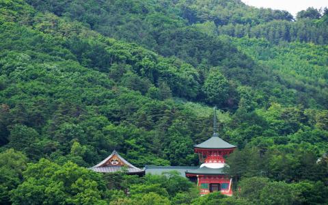 歴史ある長野の風景の写真